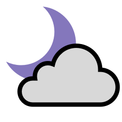 partly-cloudy-night Icon